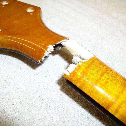 Guitar Neck Repair On An Archtop Guitar Guitar Neck Archtop Guitar Broken Guitar