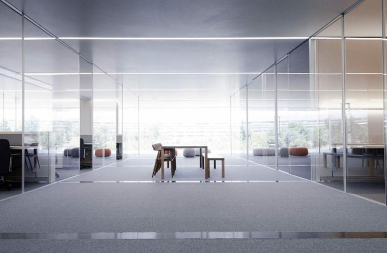 Büros und beeindruckende Arbeitsplätze für die bekanntesten