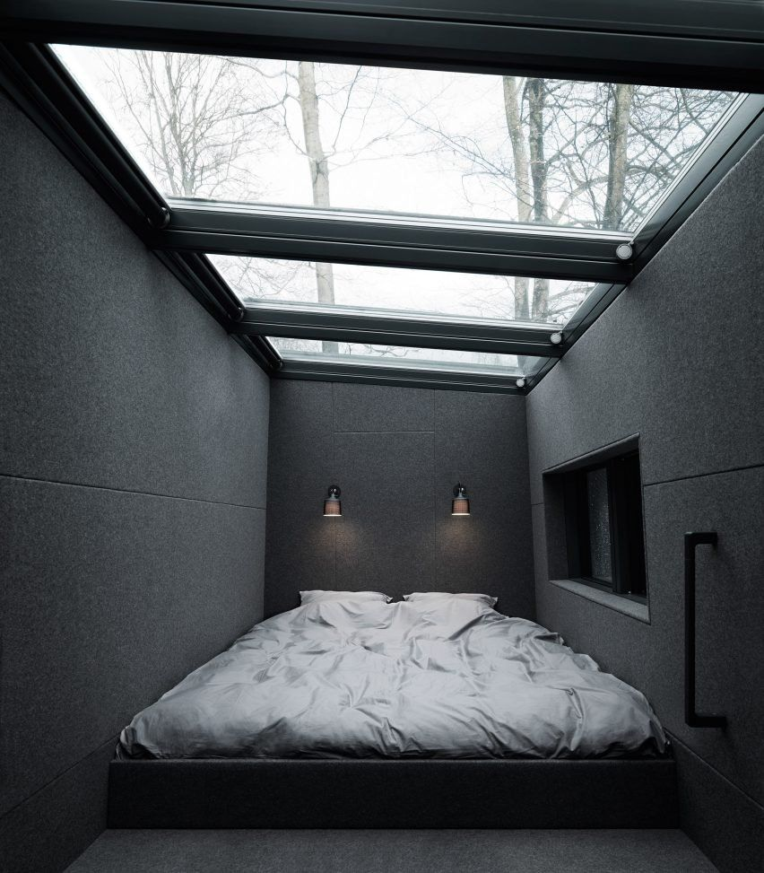 """""""Vipp has made a plug-and-play getaway that allows you to escape urban chaos,"""" said the company, which has a showroom in New York."""