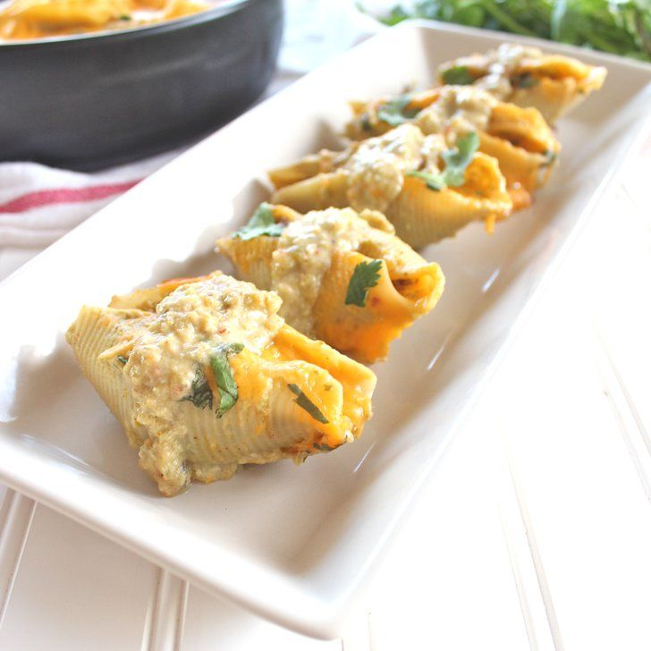 Pin for Later: 9 Kid-Friendly Recipes For Cinco de Mayo Baked Mexican Stuffed Shells A little bit Mexican. A little bit Italian. These Baked Mexican Stuffed Shells are the best of all worlds!