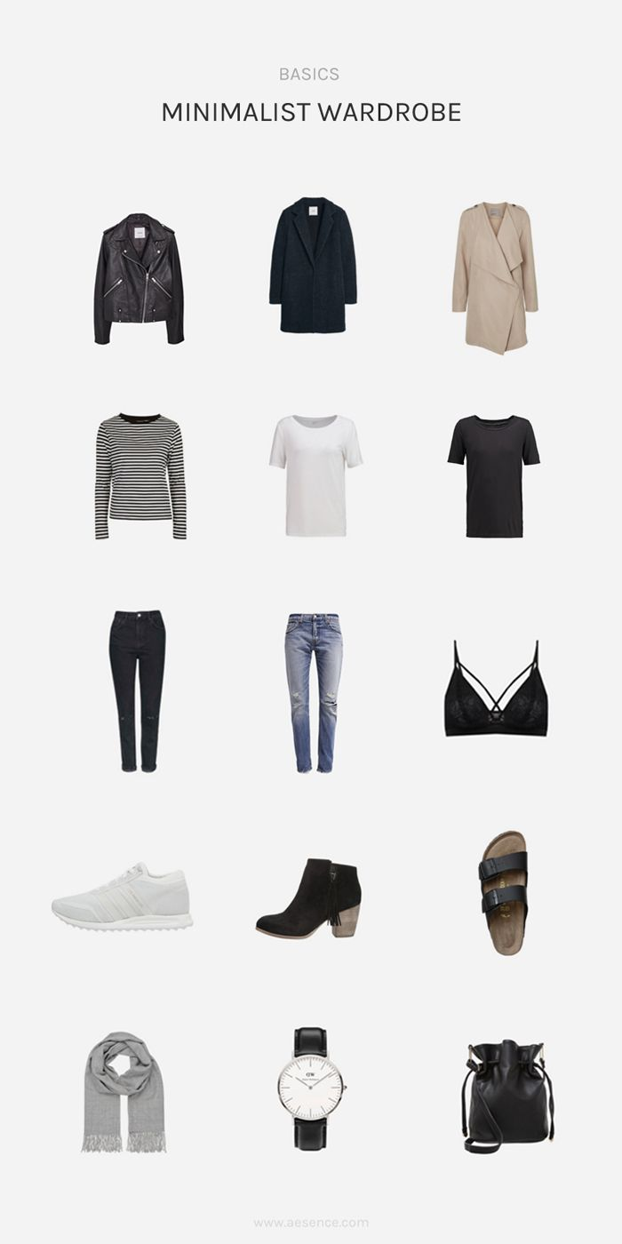 Im trend der minimalistische kleiderschrank bestehend for Trend minimalismus