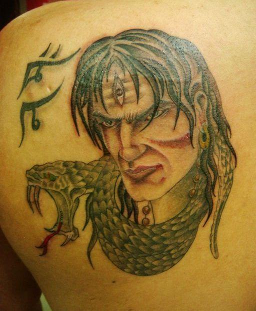 Lord Shiva Tattoo The Lord Is Back Series By Eric Jason: Hindu God Shiva Tattoo