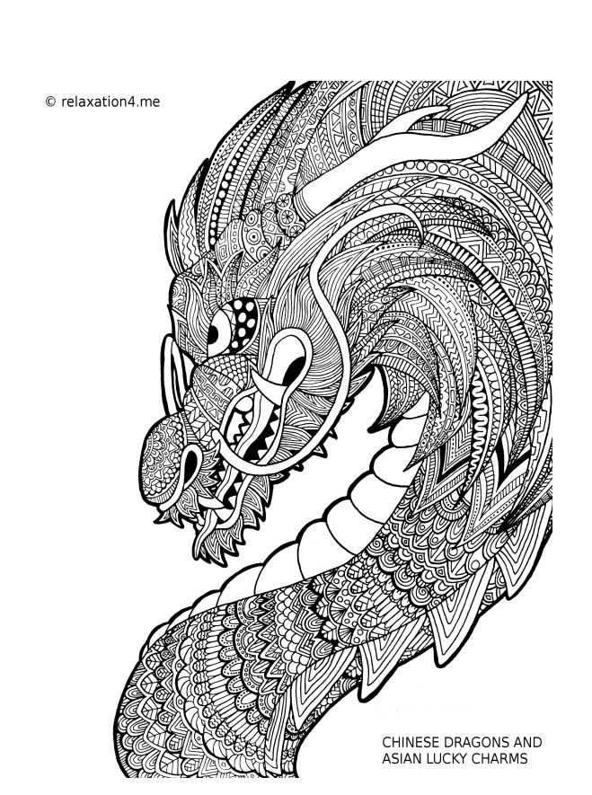 from a good friend  chinese dragons and asian lucky charms