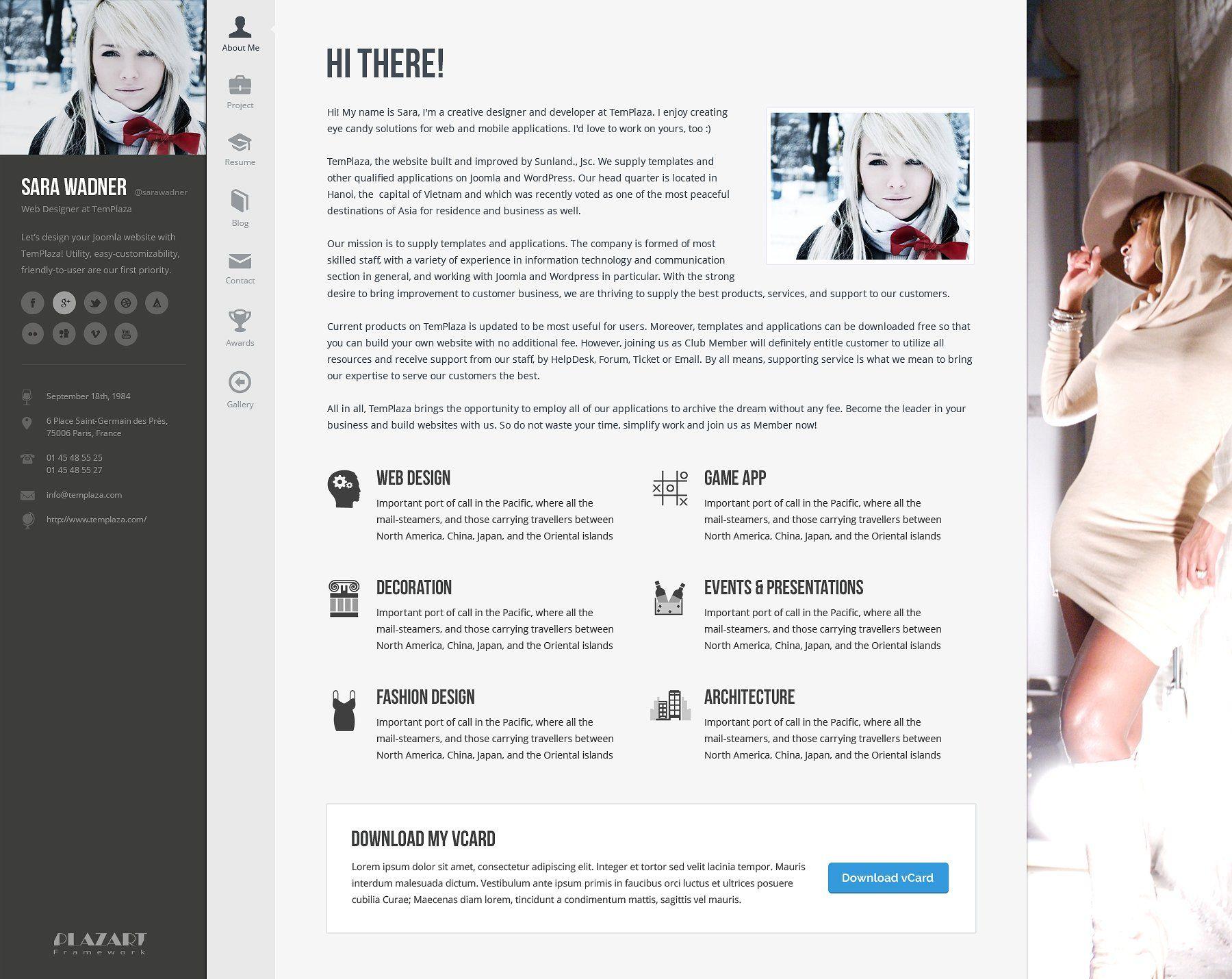 Profiler Resume WordPress Theme integratesvacancy