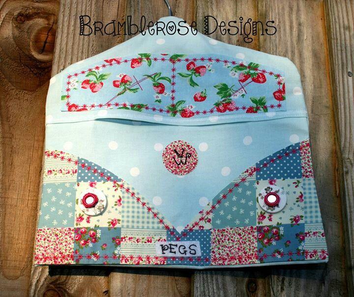 Peg bag | Clothes Pin Bags | Pinterest | Kindergarten, Nähen und Ideen