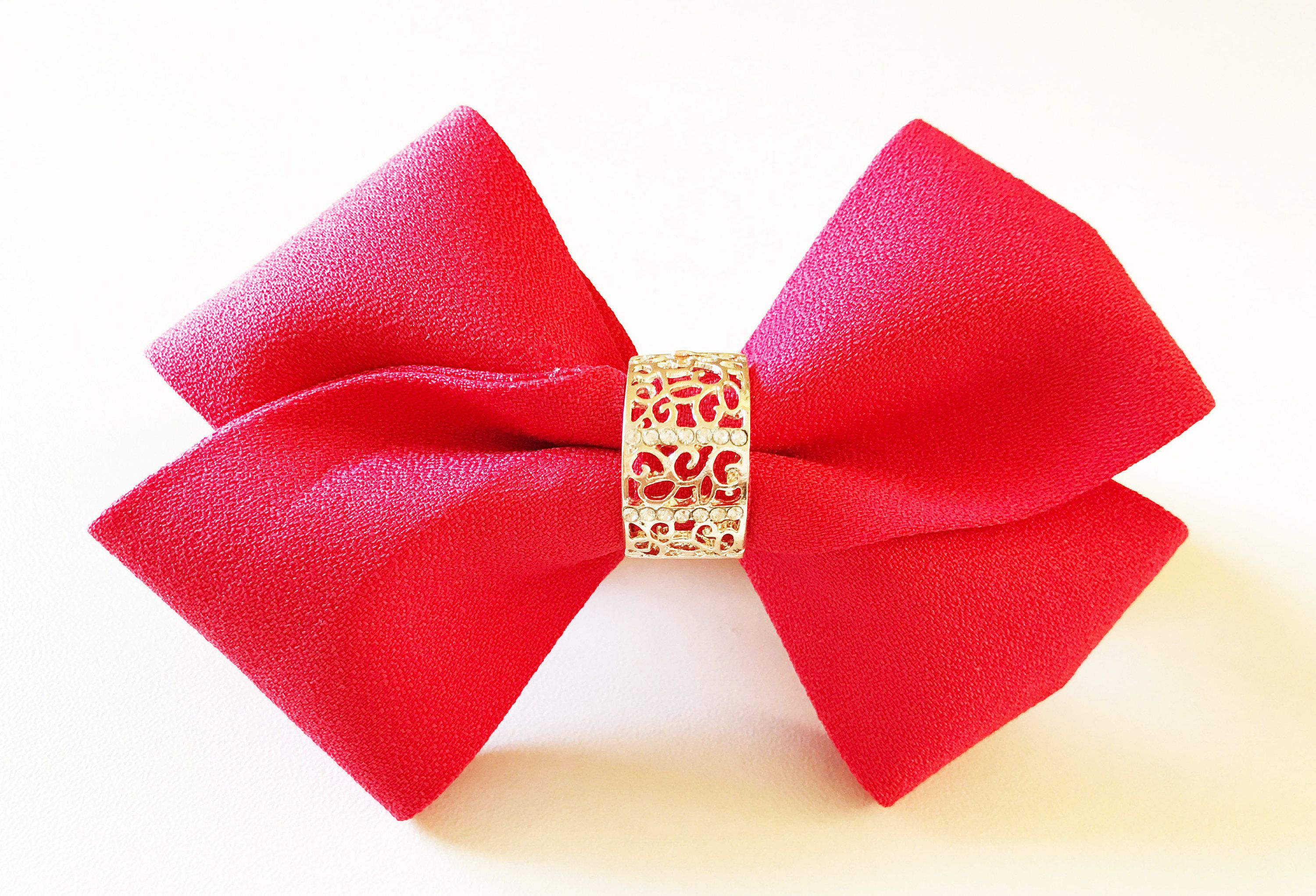 red hair bow for women chinese dress bows qipao hair