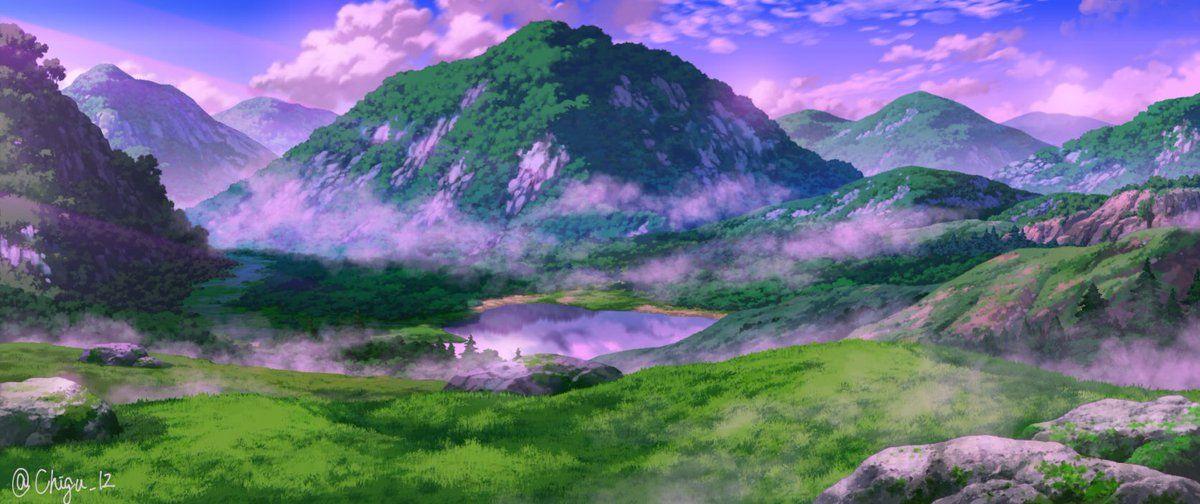 Chigu On Twitter Landscape Scenery Episode Backgrounds
