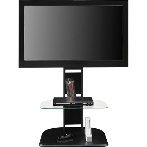 Dorel Furniture Galaxy Tv Stand With Mount For Tvs Up To 50 Black