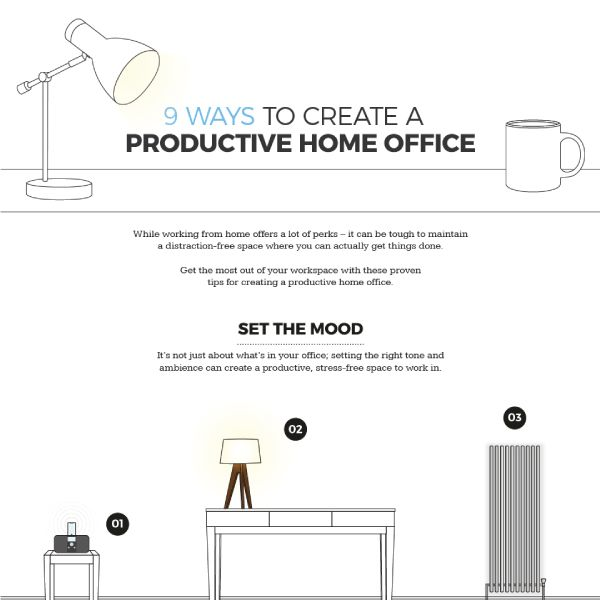 How To Create A Productive Home Office In 9 Easy Ways