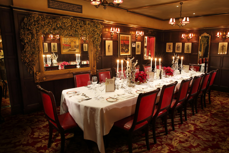 The Graham Greene Room, #Rules, #London http://www.rules.co.uk ...