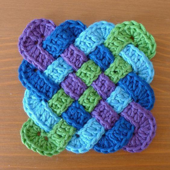 Celtic Coasters Crochet Pattern Projects Pinterest Crochet