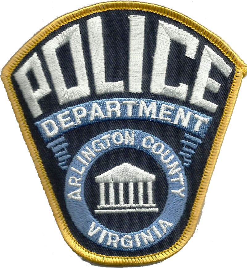 Us State Of Virginia Arlington County Police Department Patch Police Patches Police Officer Requirements Police