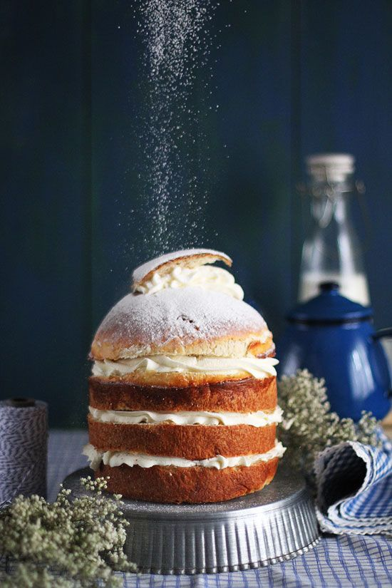 Semlor Layer Cake