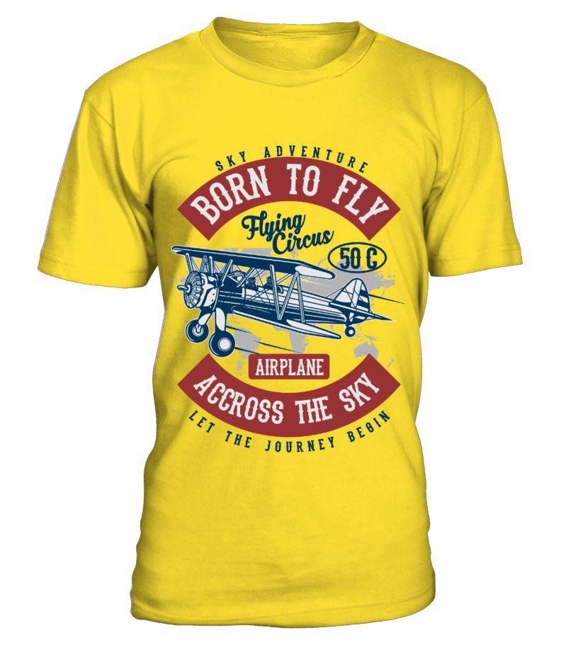 TSIRT BORN TO FLY abbigliamentoTop, uomo, camicie da uomo abbigliamento Mens tops, Men, Shirts
