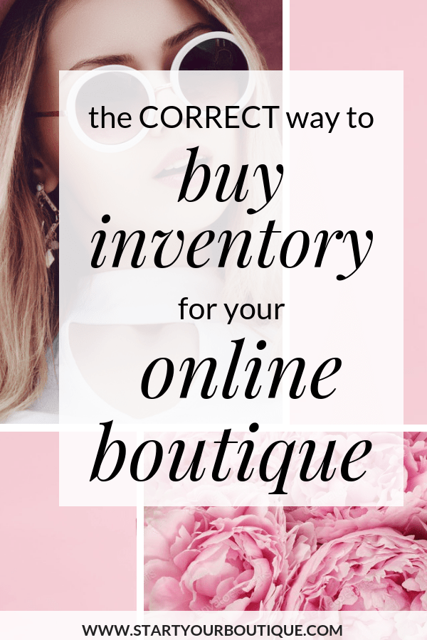 If you're starting an online boutique you might be busy trying to find trustworthy wholesale suppliers and vendors however I don't want you to neglect the most important part about running an online boutique-- buying correctly so you can stay in business. Save this pin then Click through to learn more