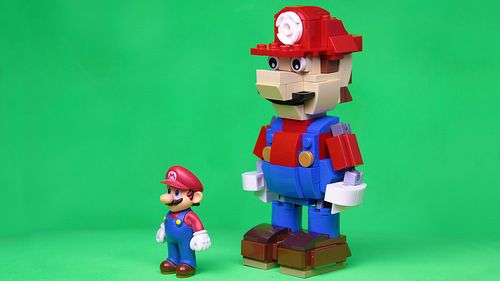 Build Your Own Lego Mario Instructions Lego Building Tips