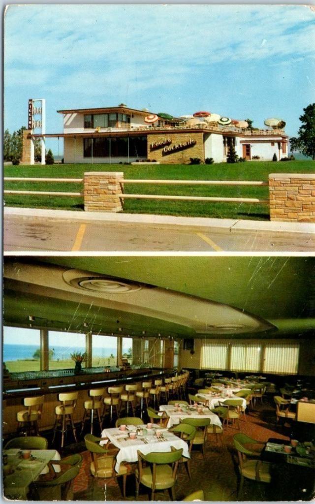 Higgins Hob Restaurant Kenosha Wi 1959