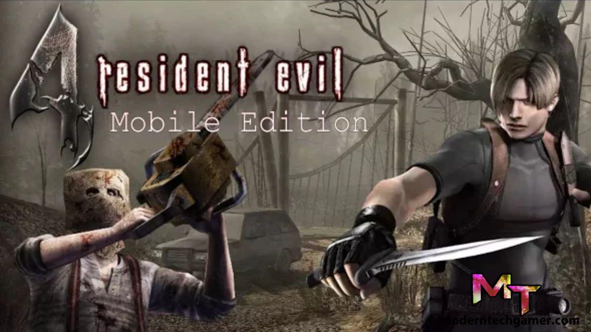 Resident Evil 4 Apk Obb Data Download For Android With Images Resident Evil Evil Resident Evil 5