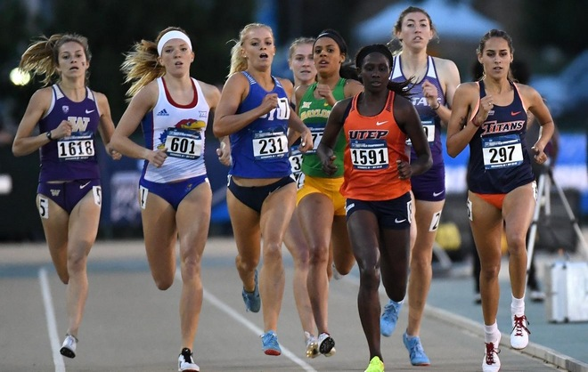 Huerta Takes 14th Place In 800m At Ncaa Championships Cal State Fullerton Athletics Ncaa Championship Athletic Events Track And Field