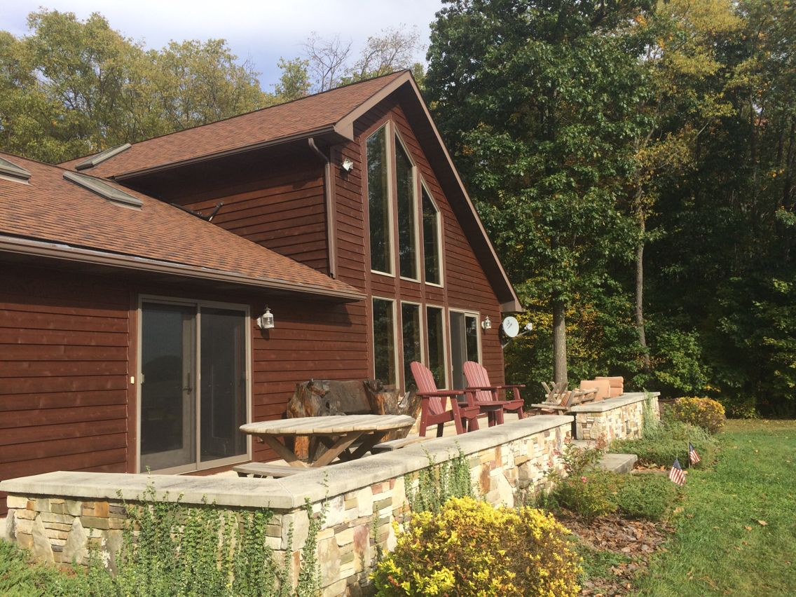 SW 3505 Yankee Barn Exterior Semi-Transparent Stain | Painting ...