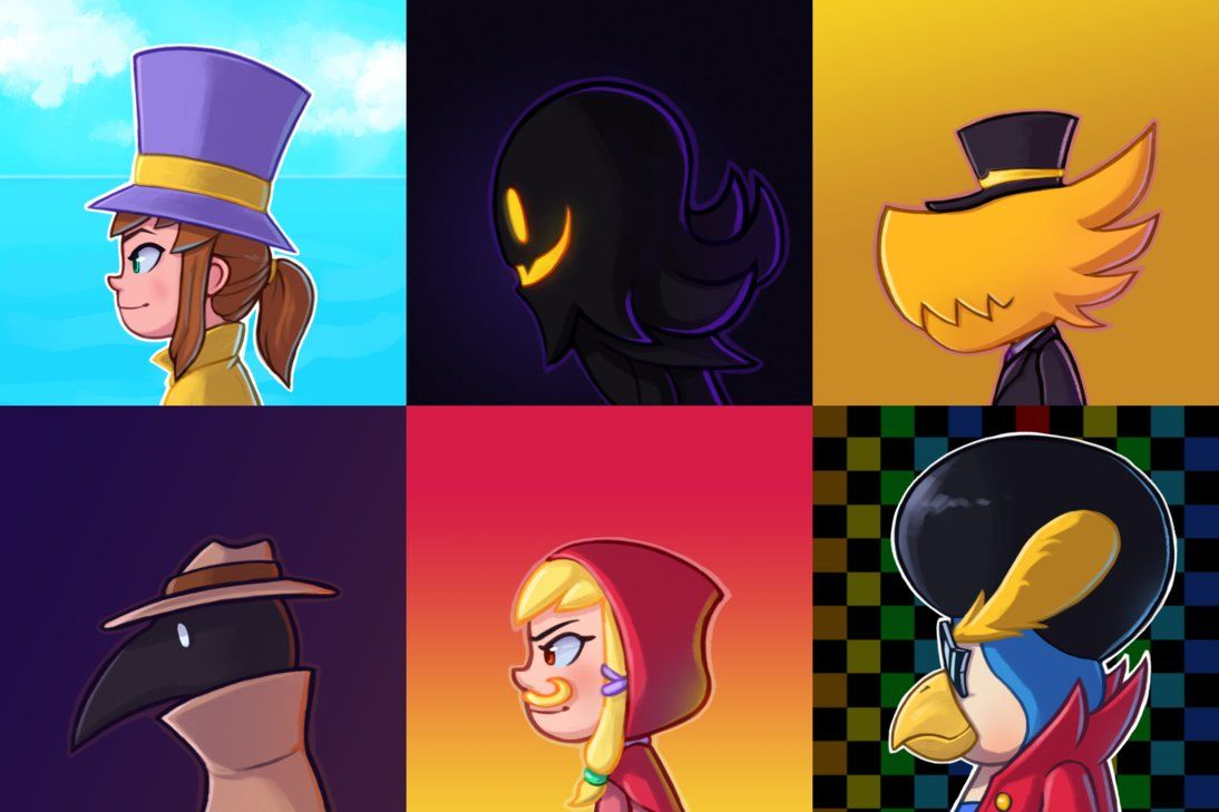 A Hat In Time Side Profiles By Toukansdesign A Hat In Time Hat In Time Art A Hat In Time Art