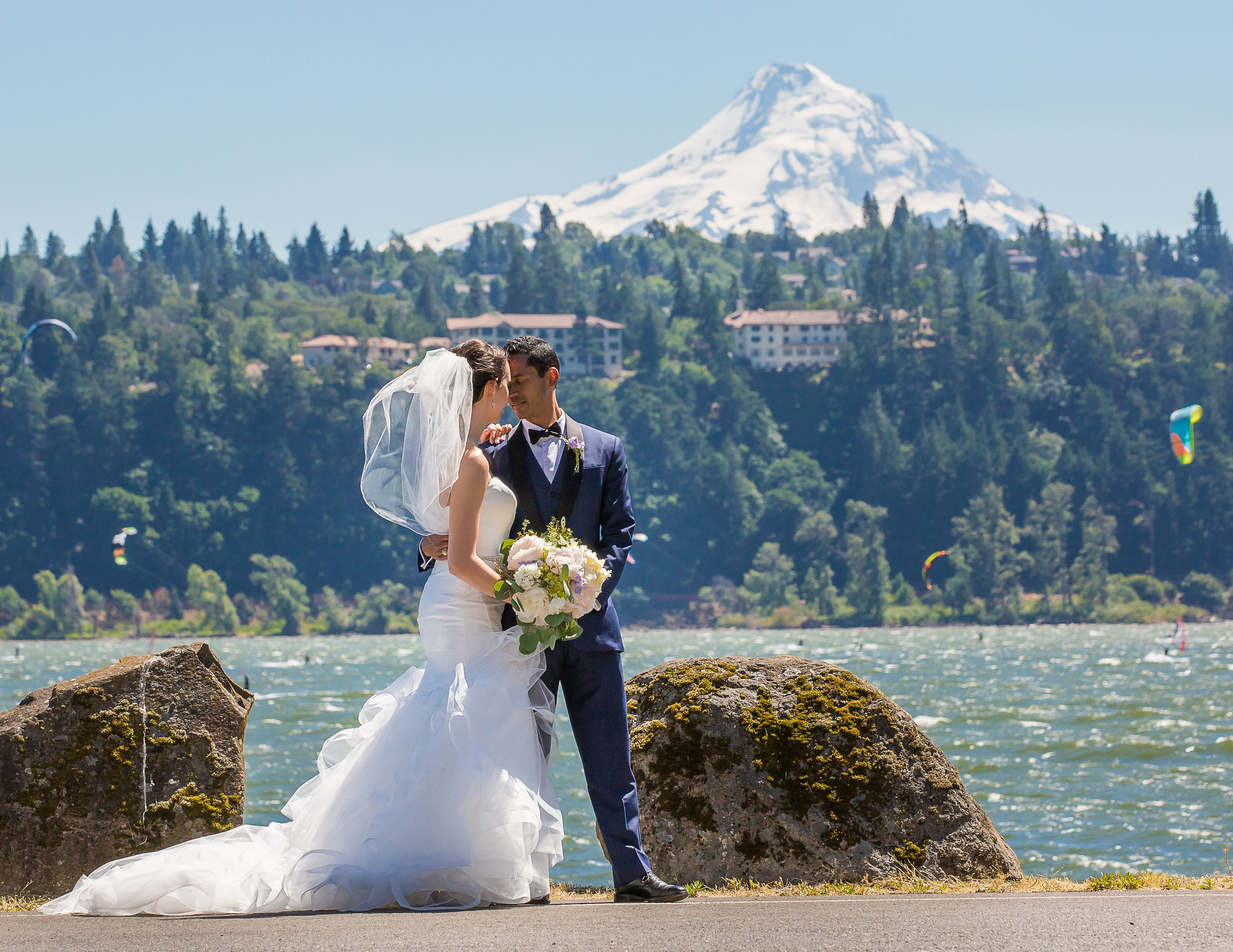 A stunning backdrop to your wedding daythe columbia