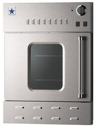 Bwo24agsn Bluestar 24 Single Gas Built In Convection Wall Oven