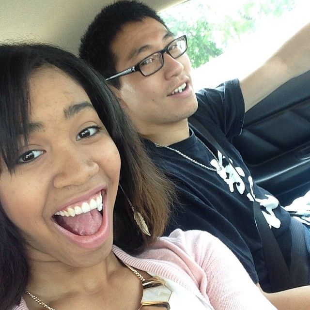kaylachung12:  With my baby on our way to SF for the annual Cherry Blossom Festival! ❤️✌️☀️ #ontheway #sanfrancisco #annual #cherrybloss...
