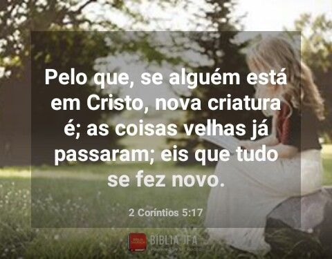 2 Corintios 5 17 Palavra De Deus Versiculo Do Dia E Salmos