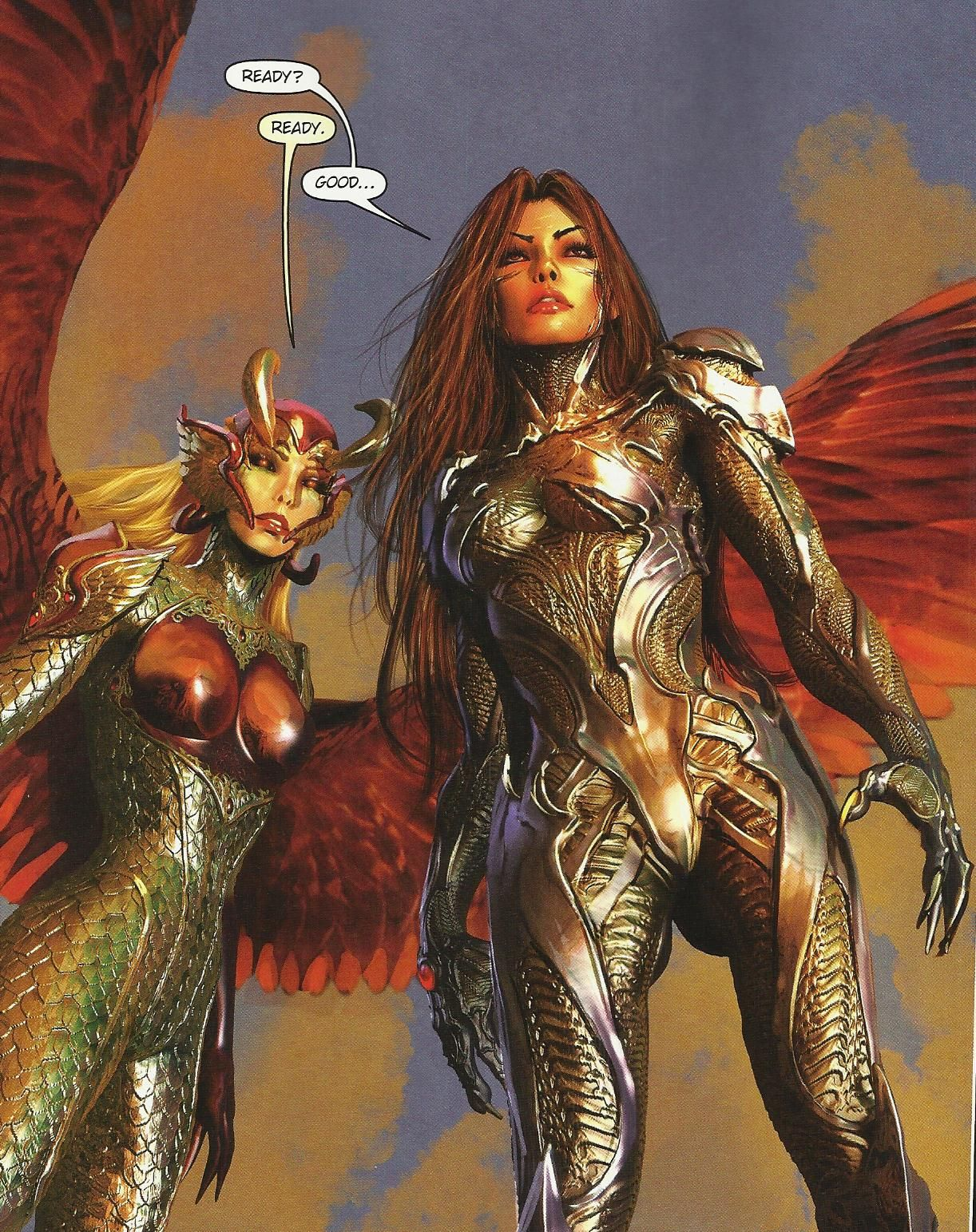 Witchblade Sara & Angelus Dani - #148 Comic Vine Geek