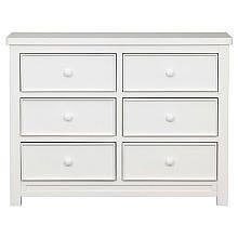 Delta Bennington 6 Drawer Double Dresser White Ambiance Babies R Us 369 99