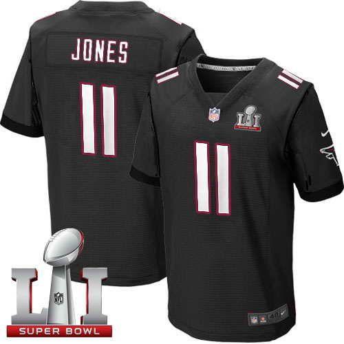 $22 Nike Super Bowl LI 51 Julio Jones Falcons Black Alternate Men's  Stitched Jersey