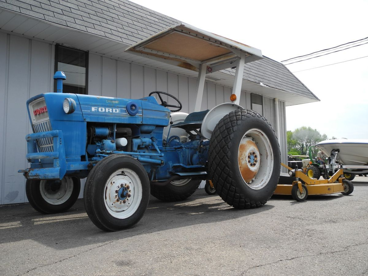 This 1965 Ford B1023C Tractor Is Equipped With A High-end