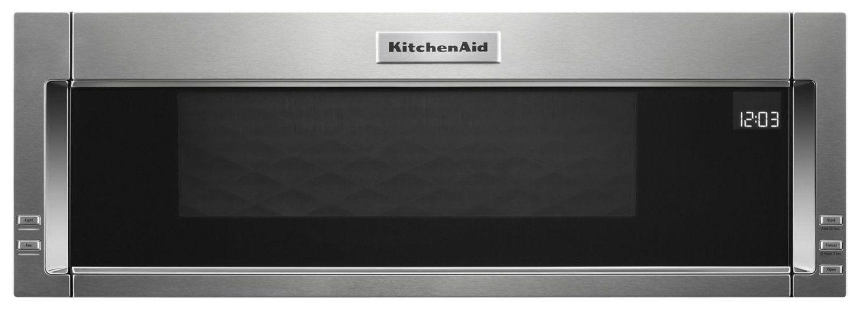 Kitchenaid 11 cu ft lowprofile microwave hood