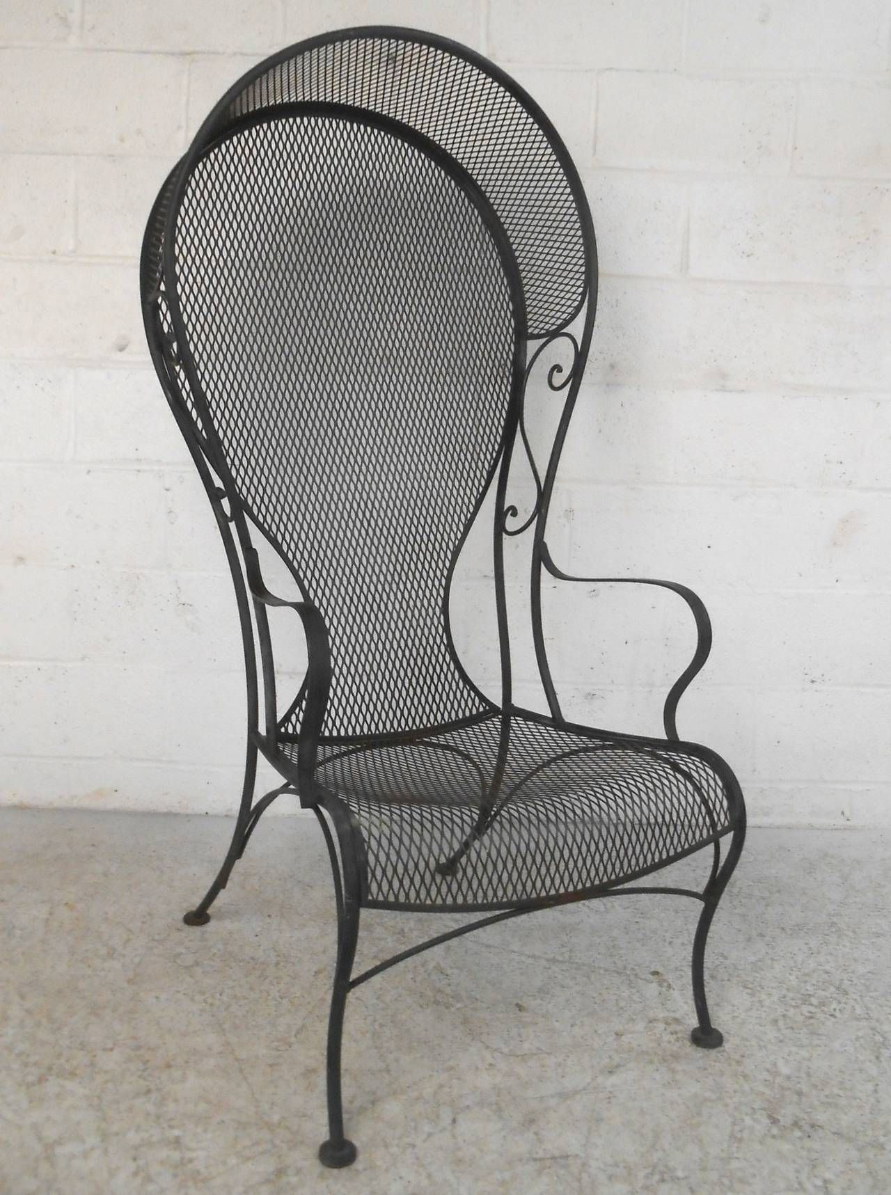 unique russell woodard style patio chair from a unique collection of antique and modern garden