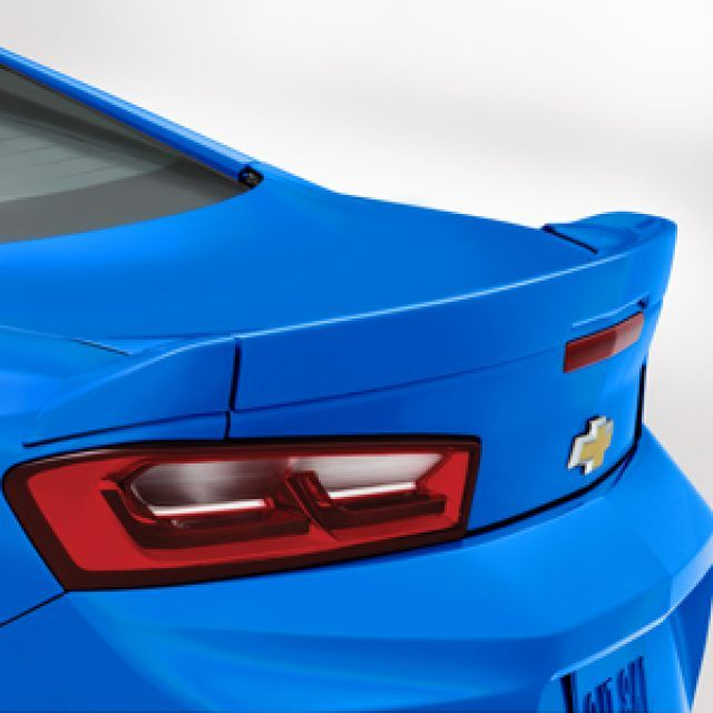 Blade Spoiler Kit In Blue Me Away Chevrolet Accessories