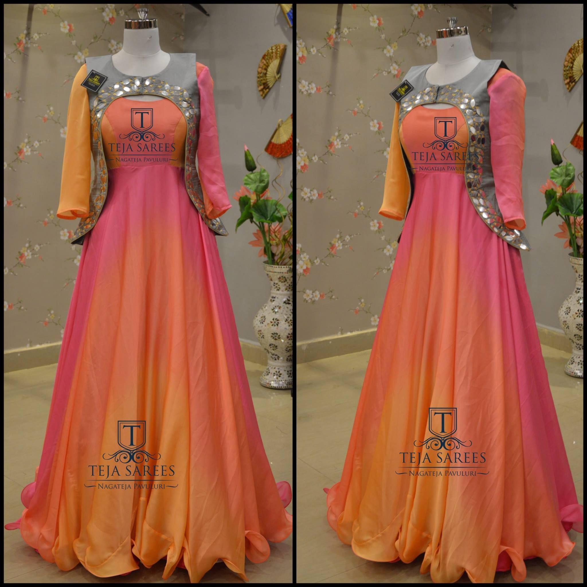 f4bd3c0143965 ... LikeNeverBefore Tejasarees Newdesigns icreate dresses tejaethnicstudio  hyd overcoats casual floorlengths tejupavuluri Stay Amazed!! Team Teja!!