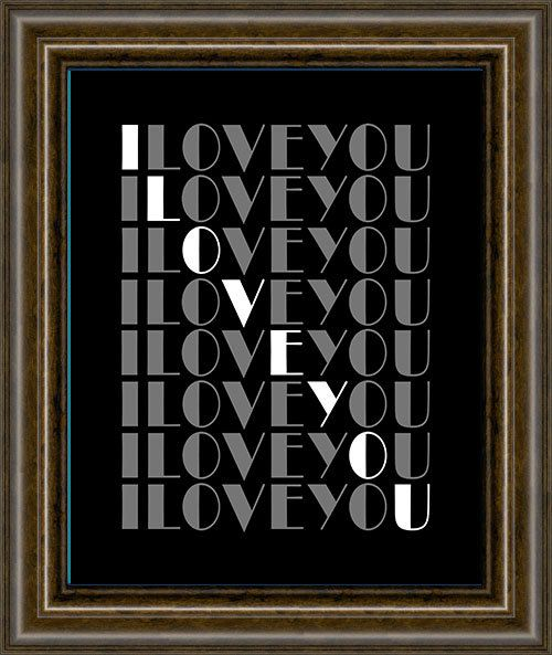 Valentines Day Gift For Him - Unique Valentines Gift For Boyfriend - Couples Anniversary Gift - Gift For Husband - I LOVE YOU #sweetestdaygiftsforboyfriend