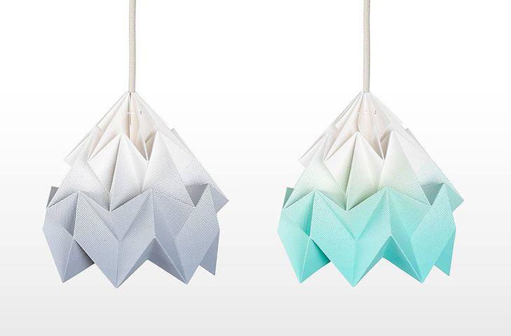 Gradient Moth Lampe fra Studio Snowpuppe - WhatWeDo Copenhagen