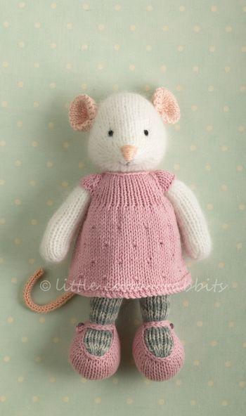 Lovely little mouse | tricot | Pinterest | Stricken, Stricken häkeln ...