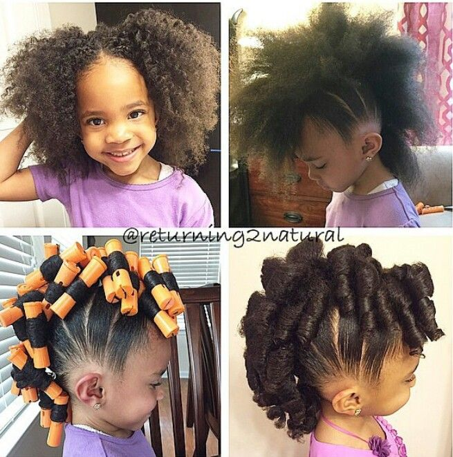 Cute Lil Girls Mohawk Hairstyle Natural Hair Styles Hair Styles
