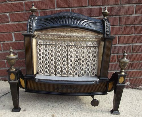 Humphrey Radiant Fire Gas Heater Fireplace Insert Picked 45 00 Sold 164 00 Gas Heater Fireplace Ceramic Heater Heater