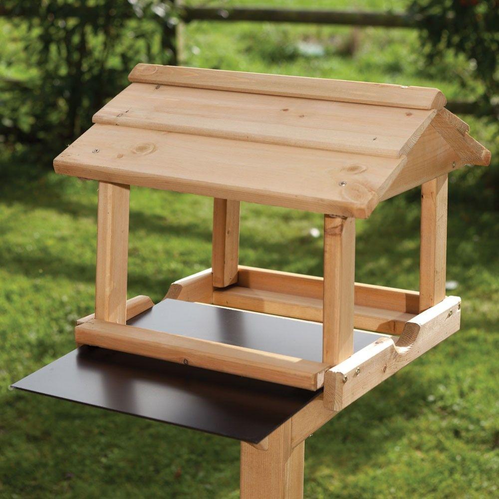 Birdhouse constructed of wood bird house design free standing bird - Bird Feeder