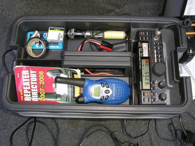 Portable Radio Set Top Shelf Emergency Response Portable Radio Emergency