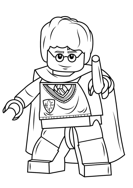 12 Impressionnant De Coloriage Lego Galerie Coloriage Lego Coloriage Harry Potter Dessin Lego