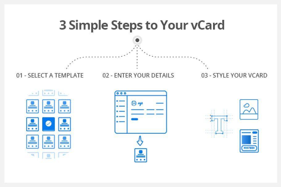 Impress unique vcard WP theme
