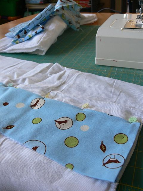Jenny: Bib and Burp Cloths by Stumbles & Stitches, via Flickr