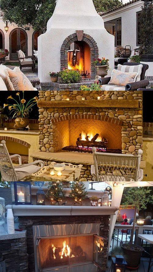 100 Amazing Outdoor Fireplace Designs @styleestate ... on Amazing Outdoor Fireplaces id=45853