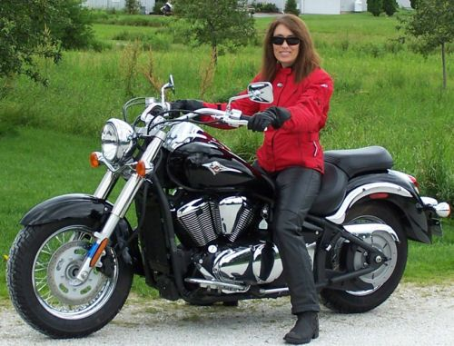 Women On Motorcycles Picture Of A 2008 Kawasaki Vulcan 900