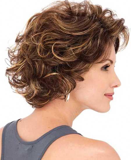 30 Elegantes Peinados Rizados Con Flequillo 2018 Estilos De Pelo Rizado Cortes De Cabello